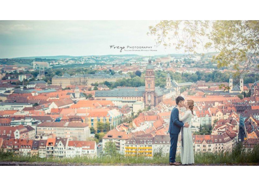 Vigo Germany pre wedding