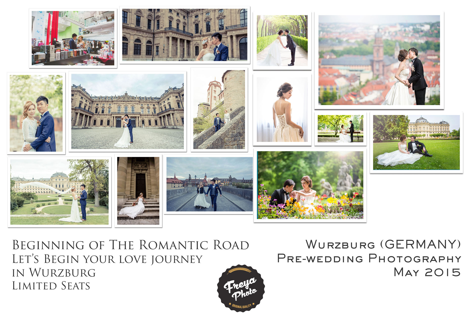 pre-wedding photography in Germany
