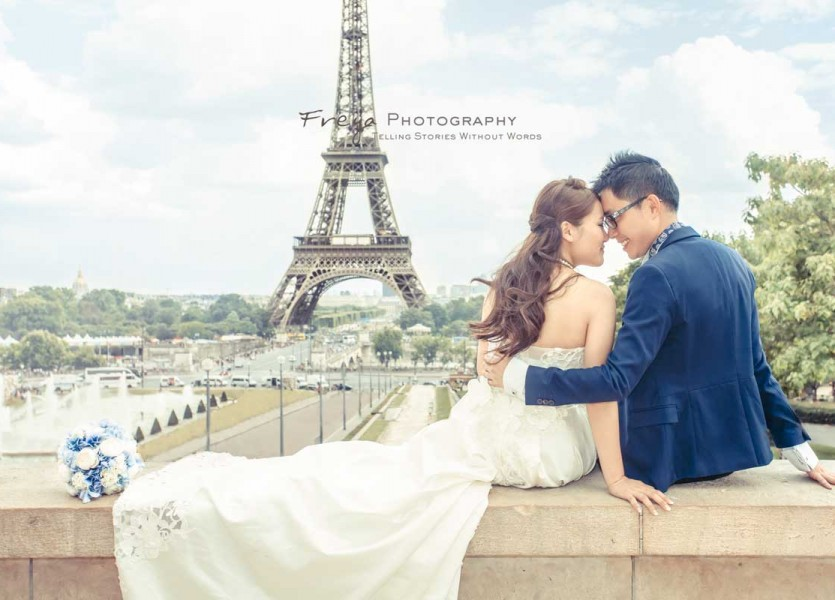 Europe prewedding paris