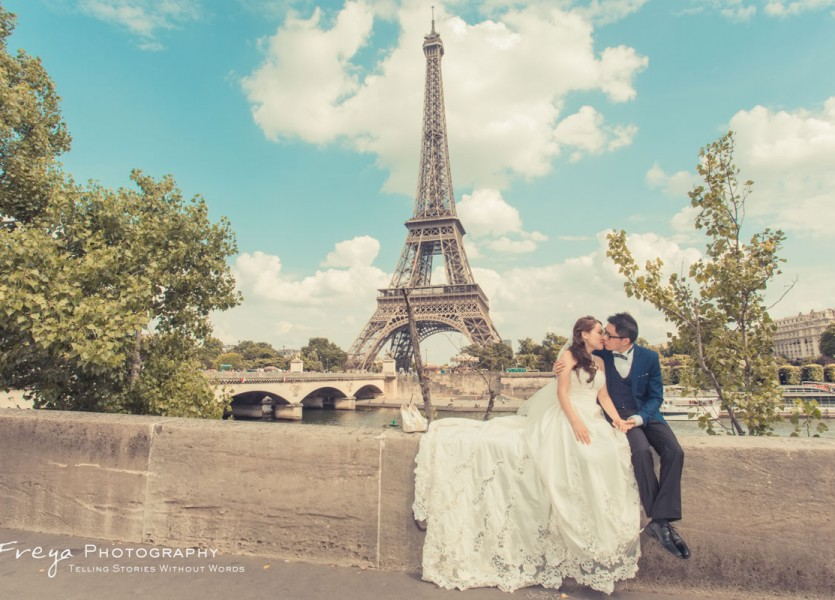 Paris prewedding photos france cathy7