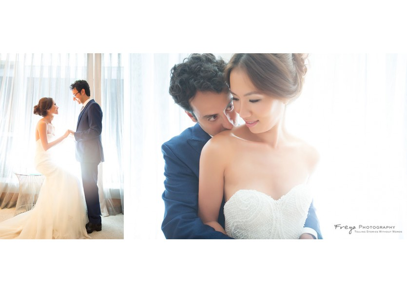 hong kong prewedding photos at Four Seasons