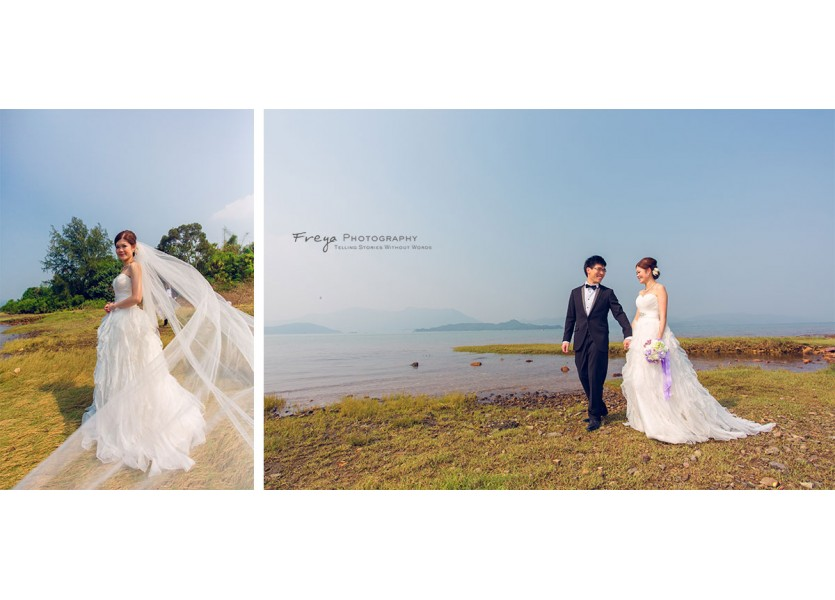 HK pre wedding photo hebe2