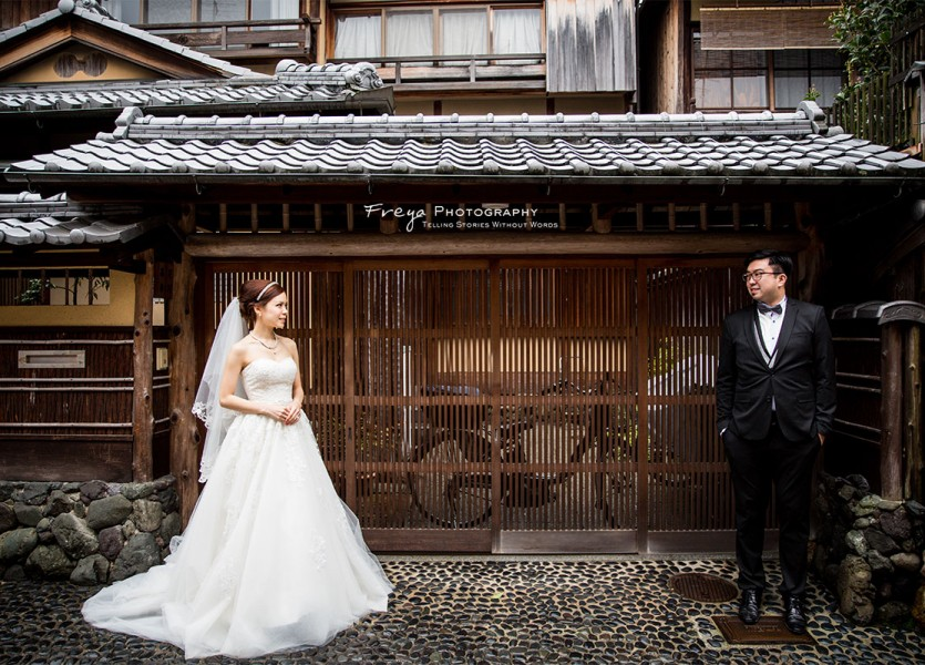 京都 pre wedding cherry3
