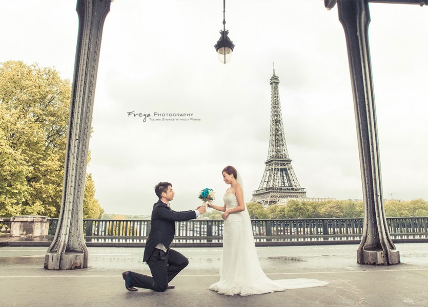 paris prewedding photo kenneth